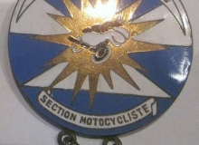 medaille concentration moto 1971 cavaillon
