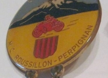 medaille concentration moto 1972 perpignan