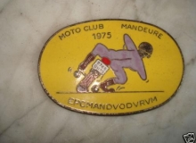 MANDEURE medaille concentration moto 1975