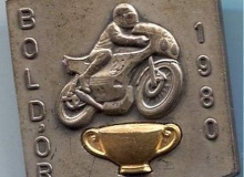 boldor medaille concentration moto 1980
