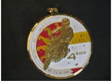 sierre medaille concentration moto 1981