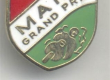 manx medaille concentration moto 1992