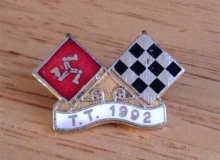 tt medaille concentration moto 1992