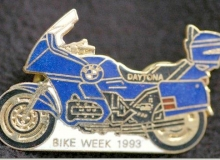 Bike Week medaille concentration moto 1993