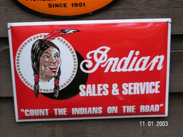 affiches anciennes ou pubs indian Plaque-tole-emaillee-moto-indian-road