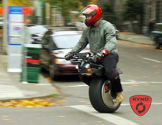 photos de moto by moto une roue monoroue ryno on street. Black Bedroom Furniture Sets. Home Design Ideas