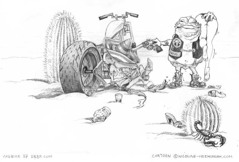 Dessin Moto Custom photos de motofreebiker :: dessin moto cartoon2