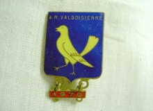 medaille concentration moto 1970 valdoisienne