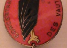 medaille concentration moto 1971 vautours
