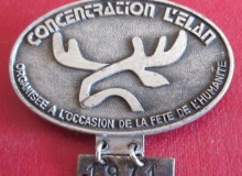 CONCENTRATION-LELAN-1971-BADGE-ANCIEN-DE-CONCENTRATION-MOTO