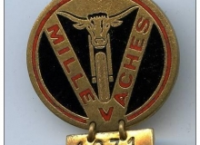 medaille concentration moto 1971 millevaches
