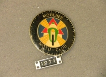 medaille concentration moto 1971 moulins