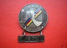 medaille concentration moto 1971 venise