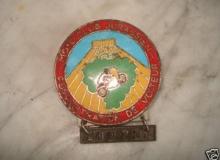 medaille concentration moto 1972 VOITEUR