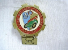 medaille concentration moto 1972 vichy