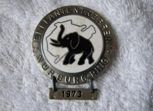 medaille concentration moto 1973 elephants MAX-4