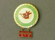 medaille concentration moto 1973 ardennes