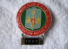 medaille concentration moto 1973 mihiel max