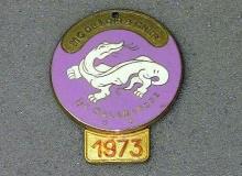 medaille concentration moto 1973 salamandre