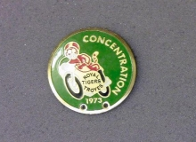 medaille concentration moto 1973 troyes