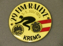 krems medaille concentration moto 1974
