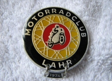 lahr medaille concentration moto 1974