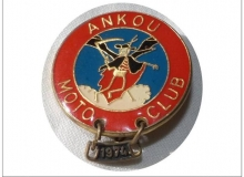 ankou medaille concentration moto 1974