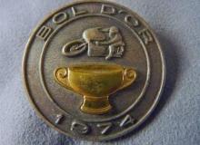 bol dor medaille concentration moto 1974