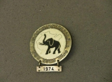 elephants medaille concentration moto 1974