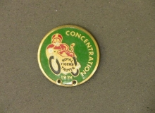 troyes medaille concentration moto 1974