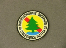lendersbach medaille concentration moto 1975