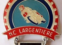 largentiere medaille concentration moto 1980