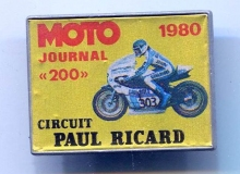 ricard medaille concentration moto 1980