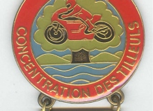 teil medaille concentration moto 1980