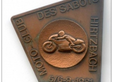 hirtzbach medaille concentration moto 1981