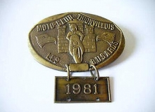 thionvillois medaille concentration moto 1981