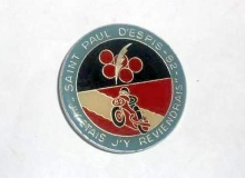espis medaille concentration moto 1982