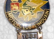 limouxin medaille concentration moto 1982