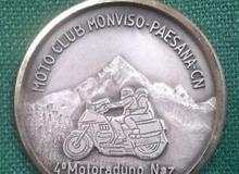motoraduno medaille concentration moto 1986