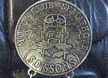 semaphore medaille concentration moto 1986