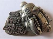 grand prix de france medaille concentration moto 1987