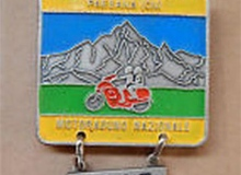 medaille concentration moto 1987