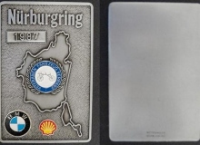 nurburgring medaille concentration moto 1987