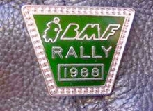 bmf rally_medaille concentration moto 1988