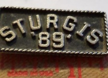 Sturgis medaille concentration moto 1989