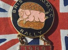 bristol medaille concentration moto 1989
