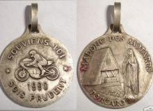 MADONNE PORCARO medaille concentration moto 1990
