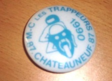 trappeurs chateauneuf medaille concentration moto 1990