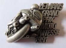 le mans medaille concentration moto 1991