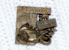 bol d'or medaille concentration moto 1993